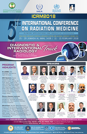 ICRM2018 Diagnostic & Interventional Radiology Poster